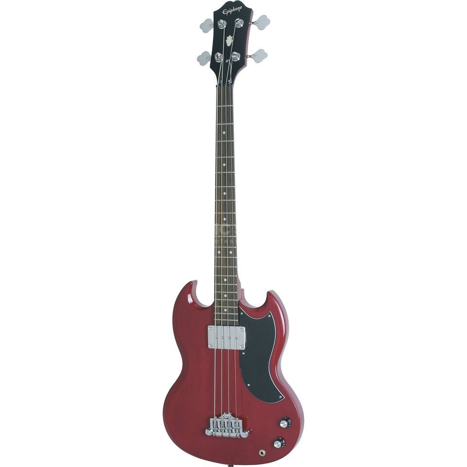 Epiphone EB-0 Bass Cherry SG-Style  Produktbillede
