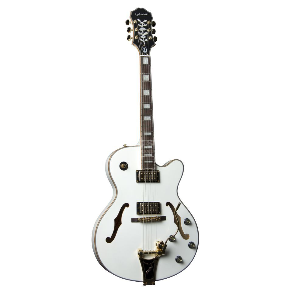 Epiphone Emperor Swingster Royale PW Pearl White Produktbild
