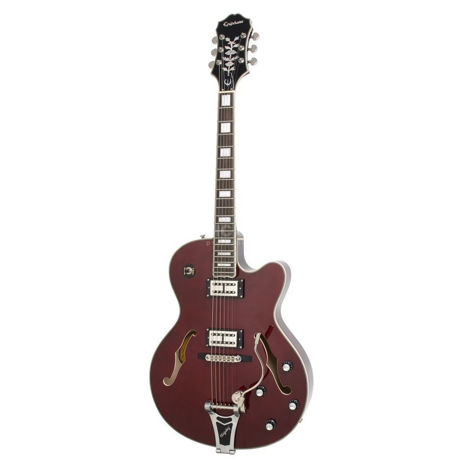 Epiphone Emperor Swingster WR Wine Red Produktbild