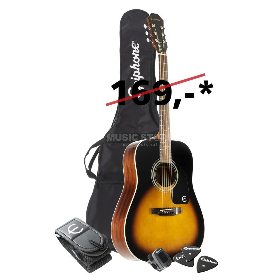 Epiphone FT-100 Player Pack VS Product Image