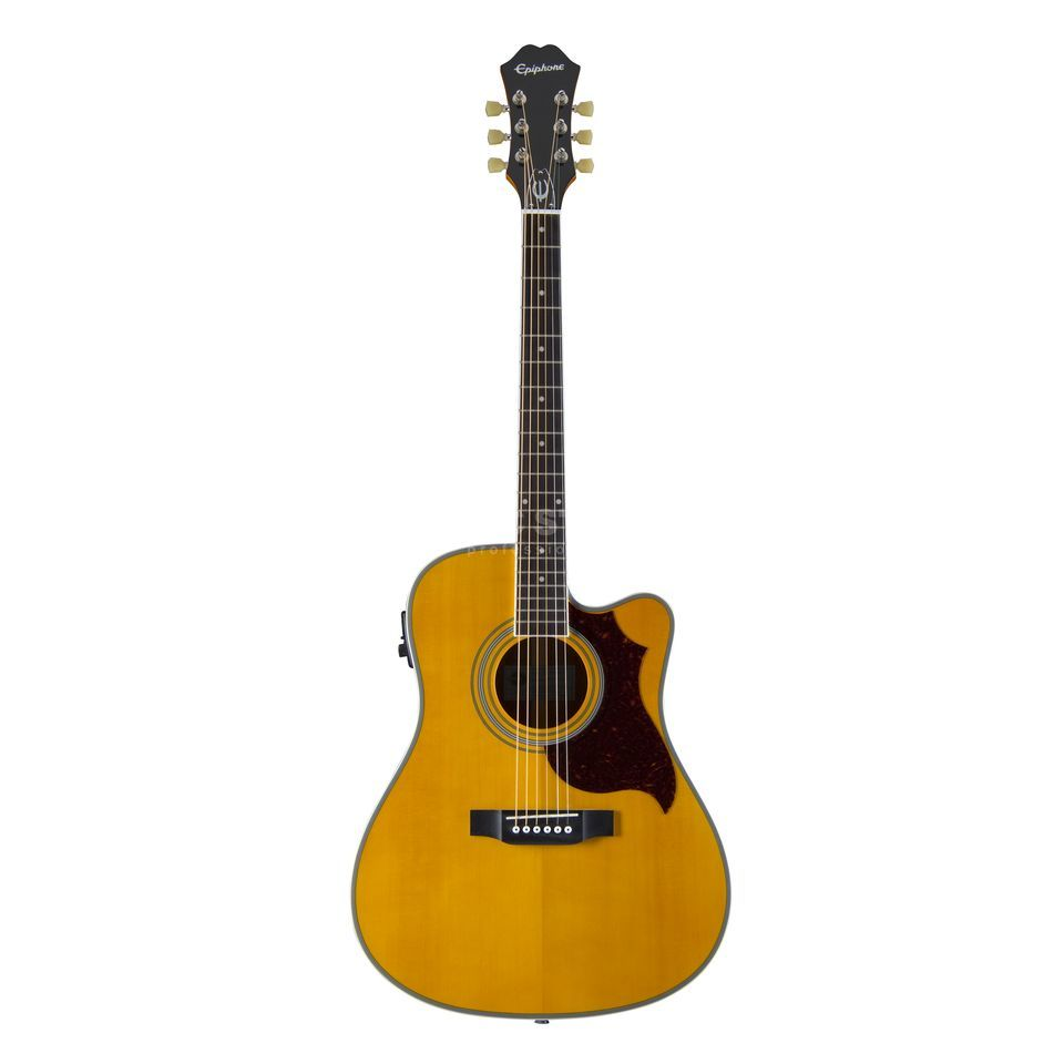 Epiphone FT-350 SCE Min-ETune AN Antique Natural Produktbild