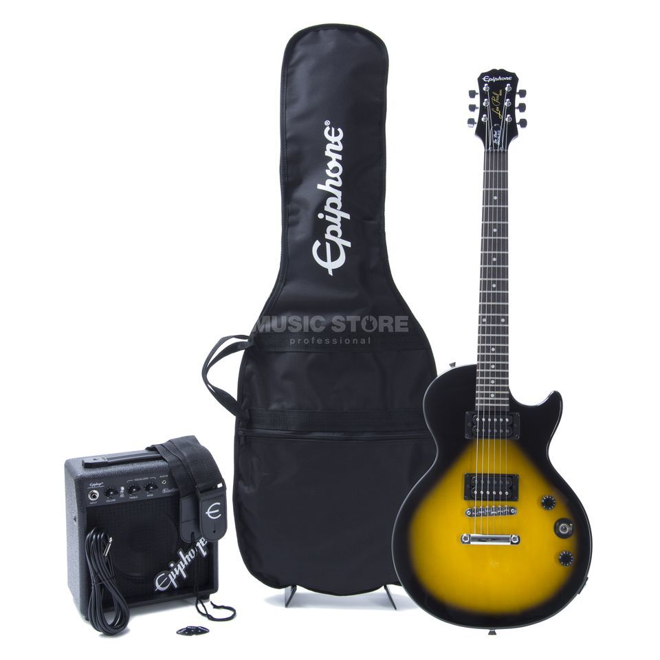 Epiphone Les Paul Player Pack VS Vintage Sunburst Produktbillede