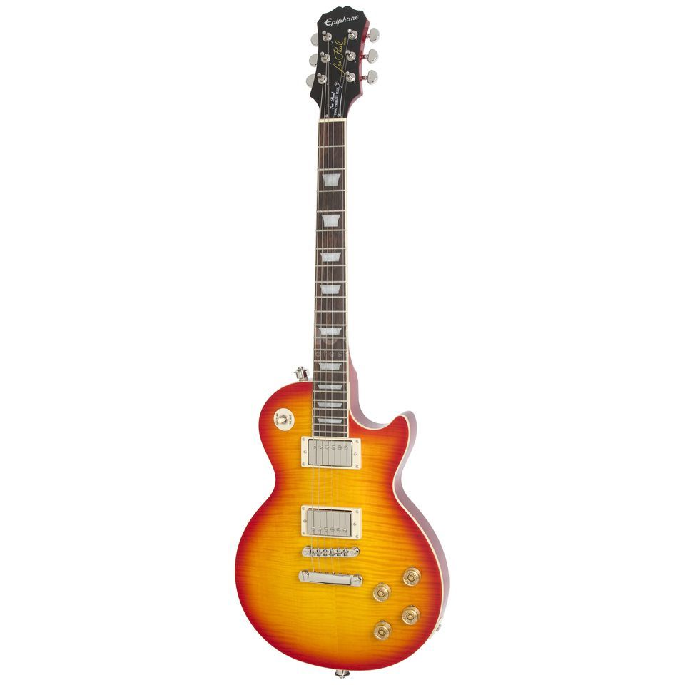 Epiphone Les Paul Tribute Plus FC Faded Cherry Sunburst Produktbillede