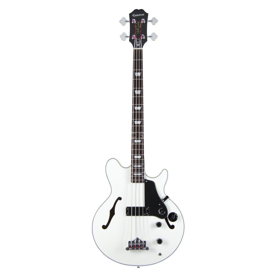 Epiphone Limited Edition Jack Casady Signature Bass Alpine White Product Image