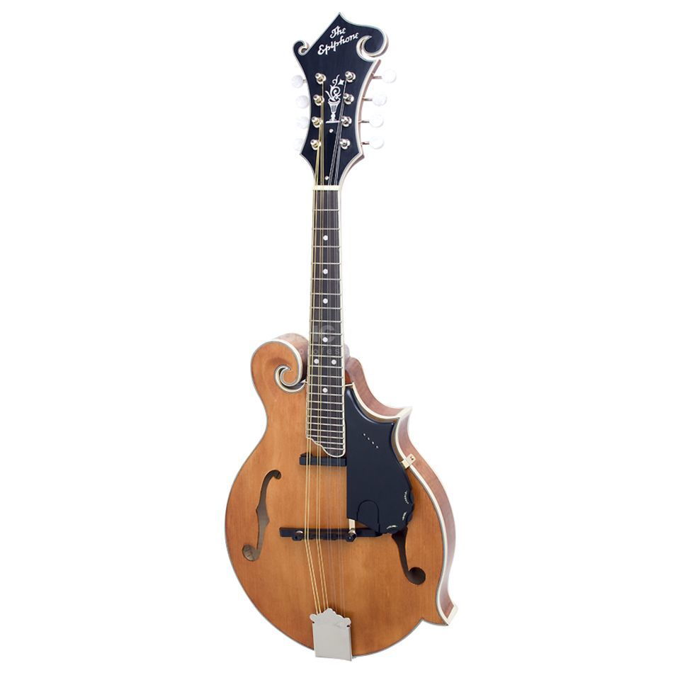 Epiphone MM-50E VN Vintage Natural F-Style Professional Produktbild