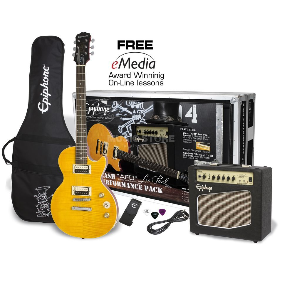 Epiphone Slash AFD Les Paul Special II Performance Pack UK Version Produktbild
