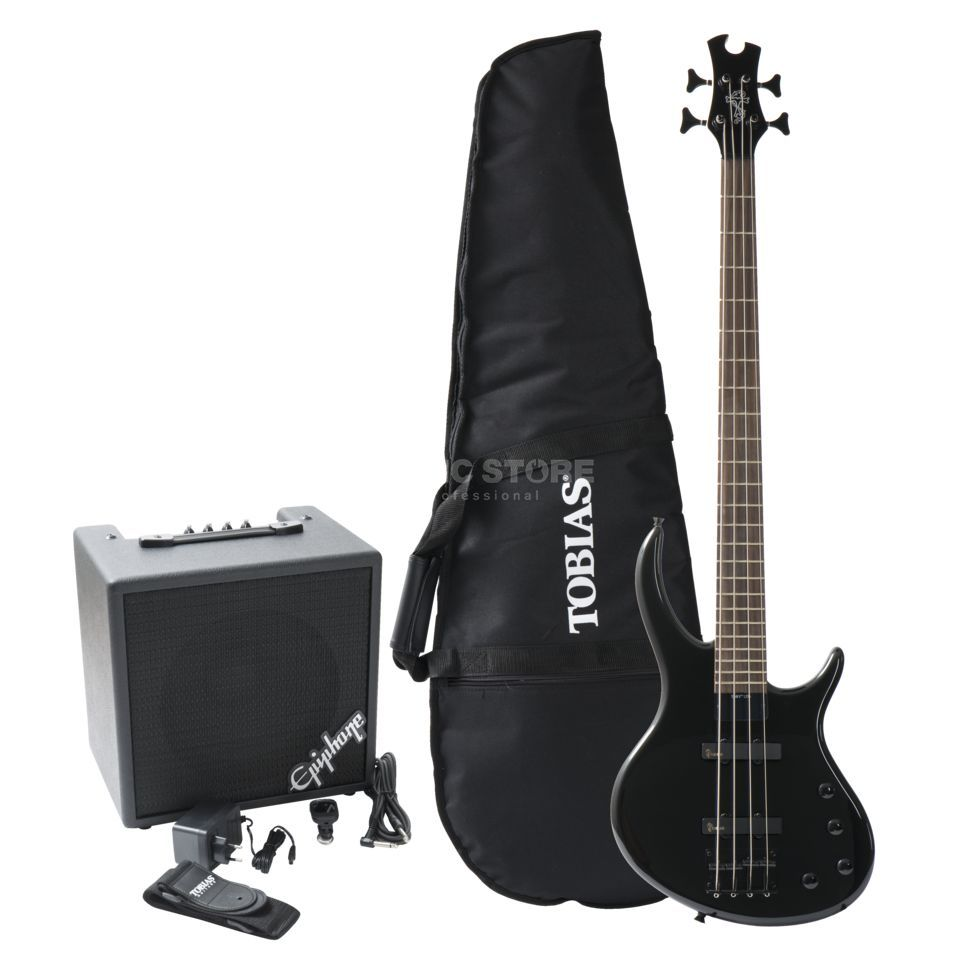 Epiphone Toby Bass Pack EB Ebony Product Image