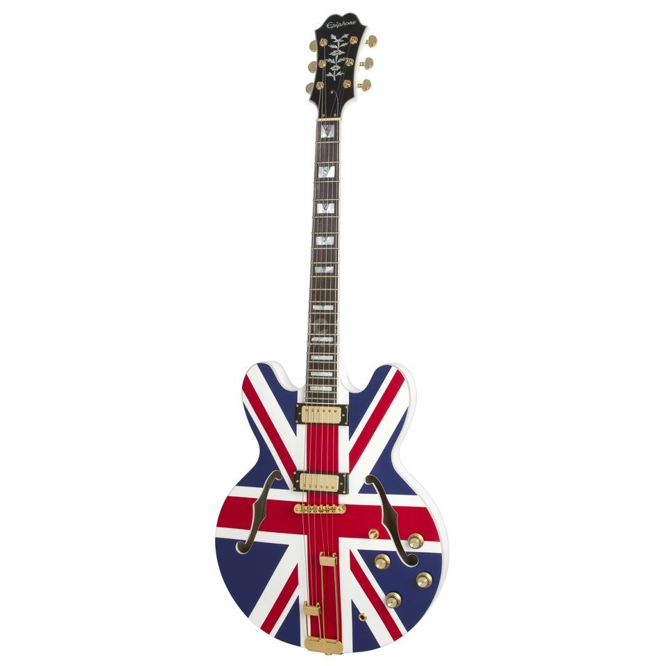 Epiphone Union Jack Sheraton Outfit Limited Edition Produktbild
