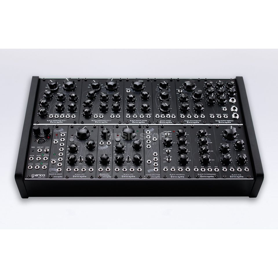 Erica Synths Black Classic System Produktbild