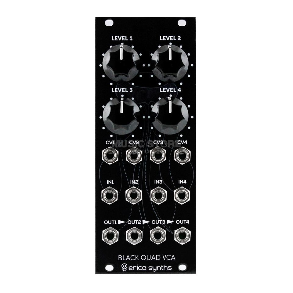 Erica Synths Black Quad VCA Product Image