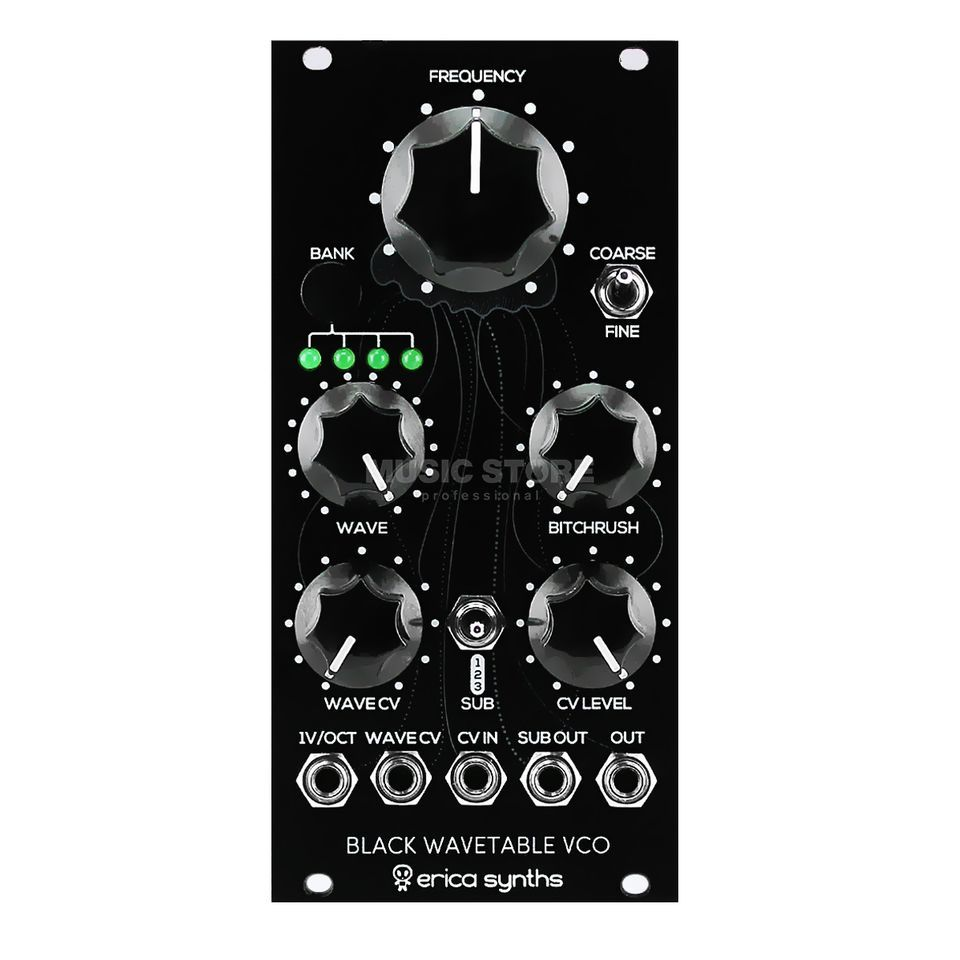 Erica Synths Black Wavetable VCO Produktbillede