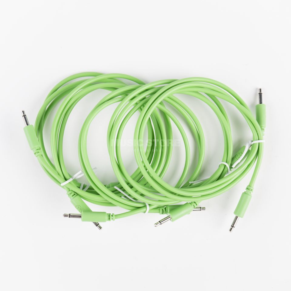 Erica Synths Eurorack Patch Cables 900mm Green (5-Pack) Product Image