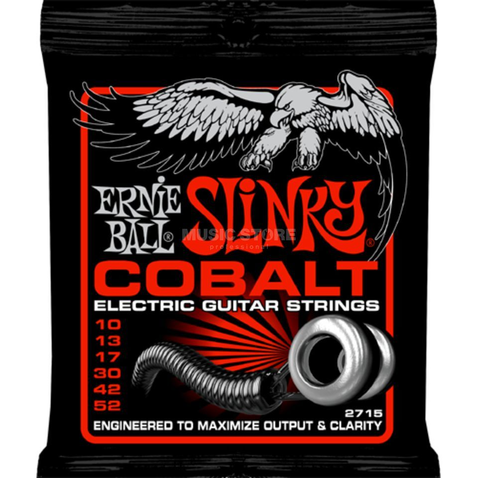 Ernie Ball E-Guitar Strings 10-52 Cobalt Skinny Top EB2715 Produktbillede