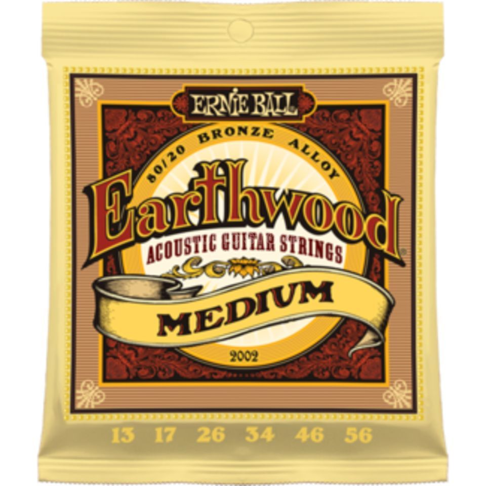 Ernie Ball EB2002 13-56 Earthwood 80/20 Bronze Medium Produktbild