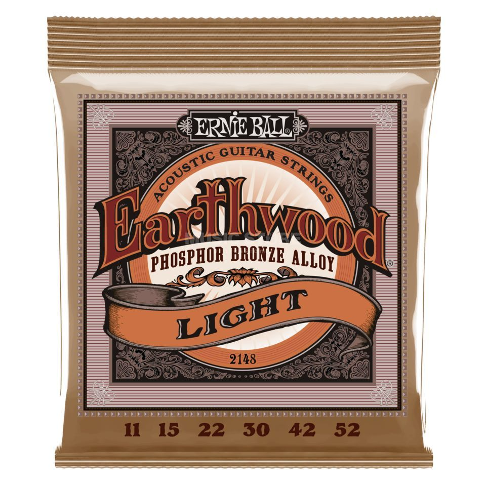 Ernie Ball EB2148 11-52 Earthwood Phosphor Bronze Super Slinky Produktbild