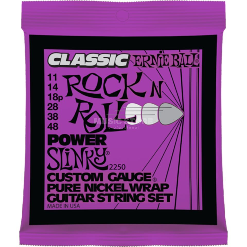 Ernie Ball EB2250 11-48 Rock'n Roll Power Slinky Pure Nickel Produktbild
