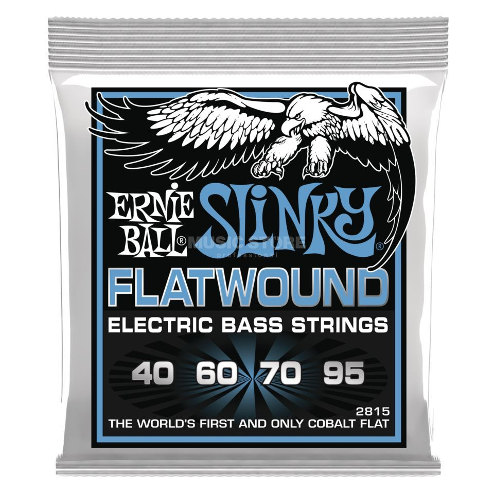 Ernie Ball EB2815 40-95 Flatwound Cobalt Изображение товара