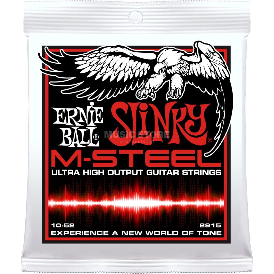 Ernie Ball EB2915 10-52 M-Steel Slinky Skinny Top Product Image