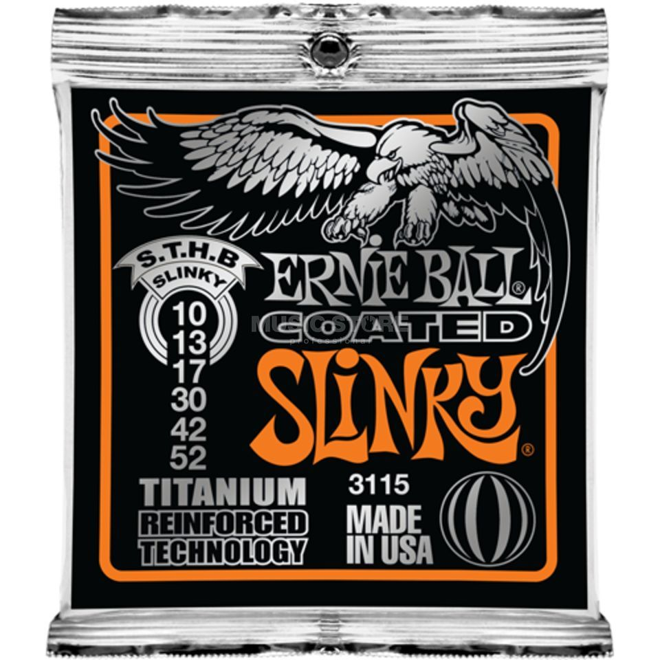 Ernie Ball EB3115 10-52 Coated Titanium RPS Skinny Top Heavy Bottom Produktbild