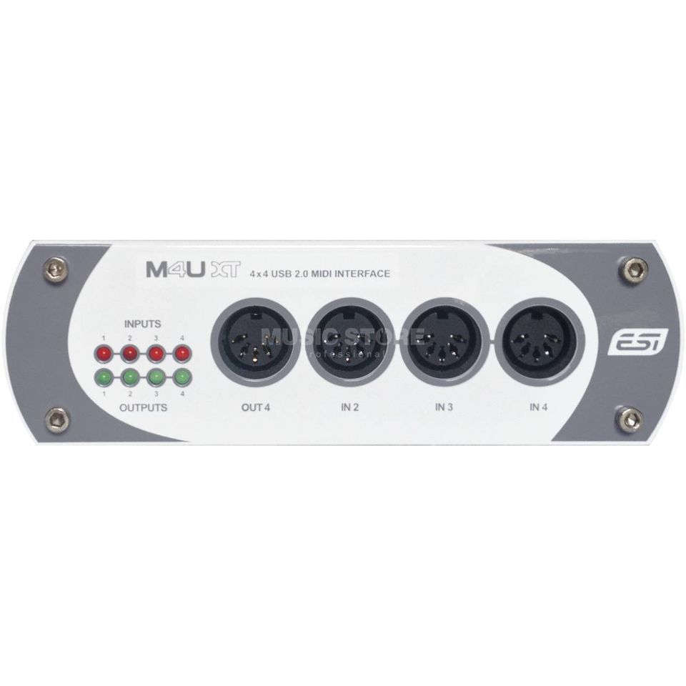 ESI M4U XT 4 x 4 USB MIDI Interface Produktbild