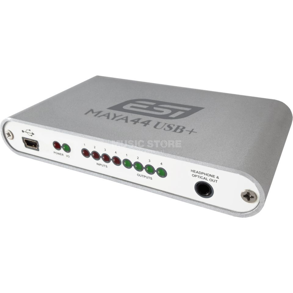 ESI Maya 44 USB  24-bit 44.1/48kHz  4X4 USB Audio Interface   Product Image