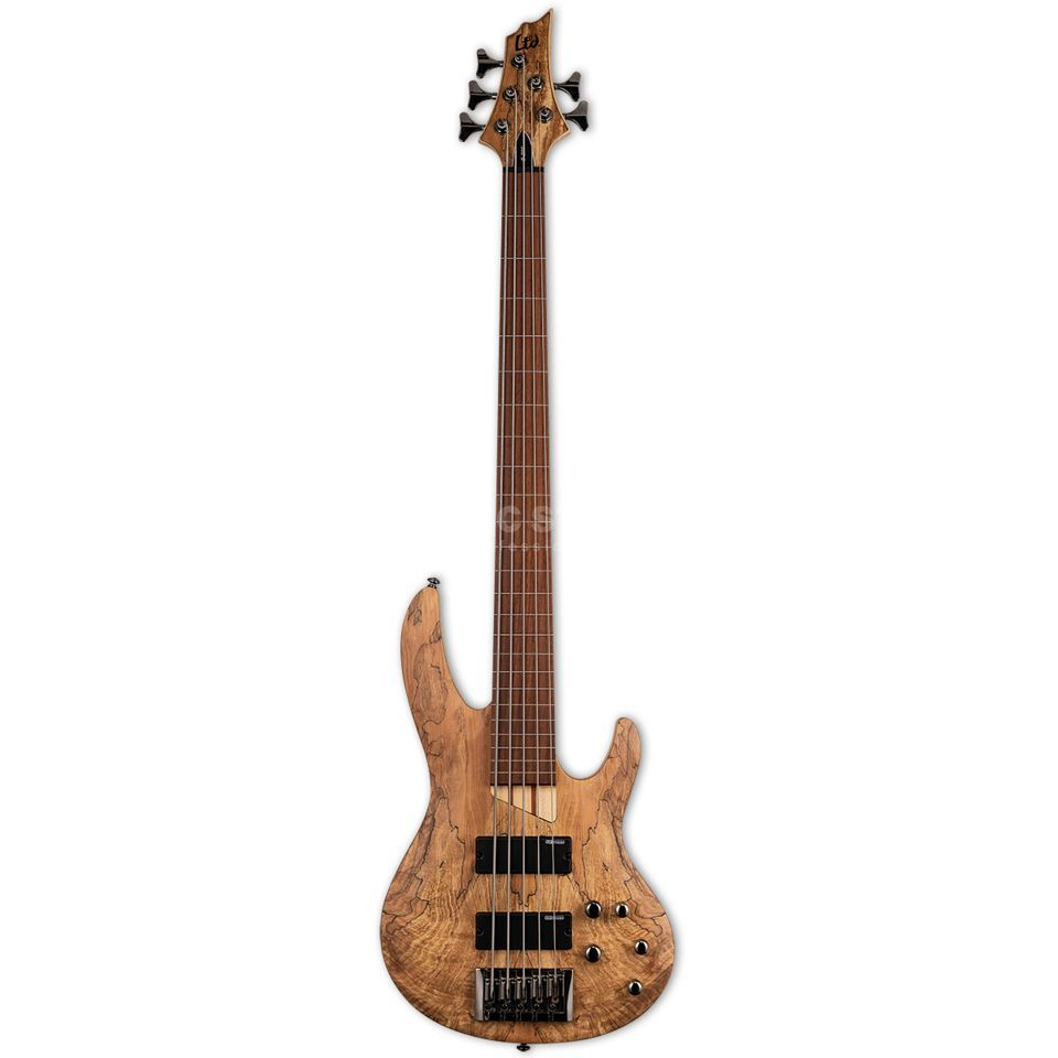 ESP LTD B-205SM-FL NS Fretless Natural Satin Productafbeelding