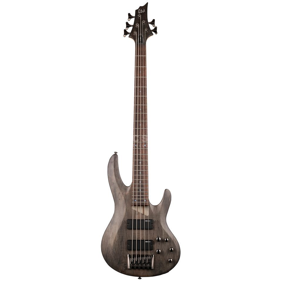 ESP LTD B-205SM See Thru Black Satin Product Image