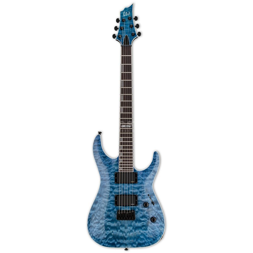 ESP LTD H-401 QM FSB Faded Sky Blue Product Image