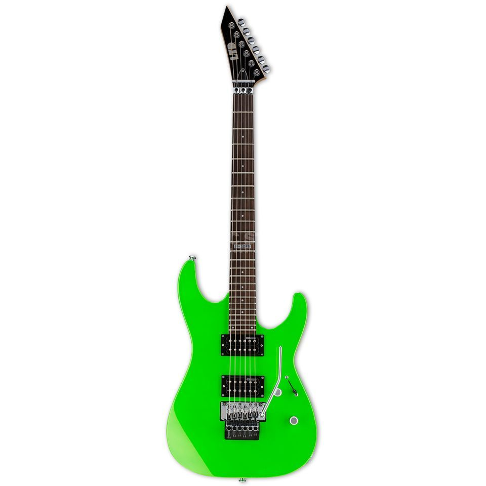 ESP LTD M-50 FR NGR Neon Green Product Image
