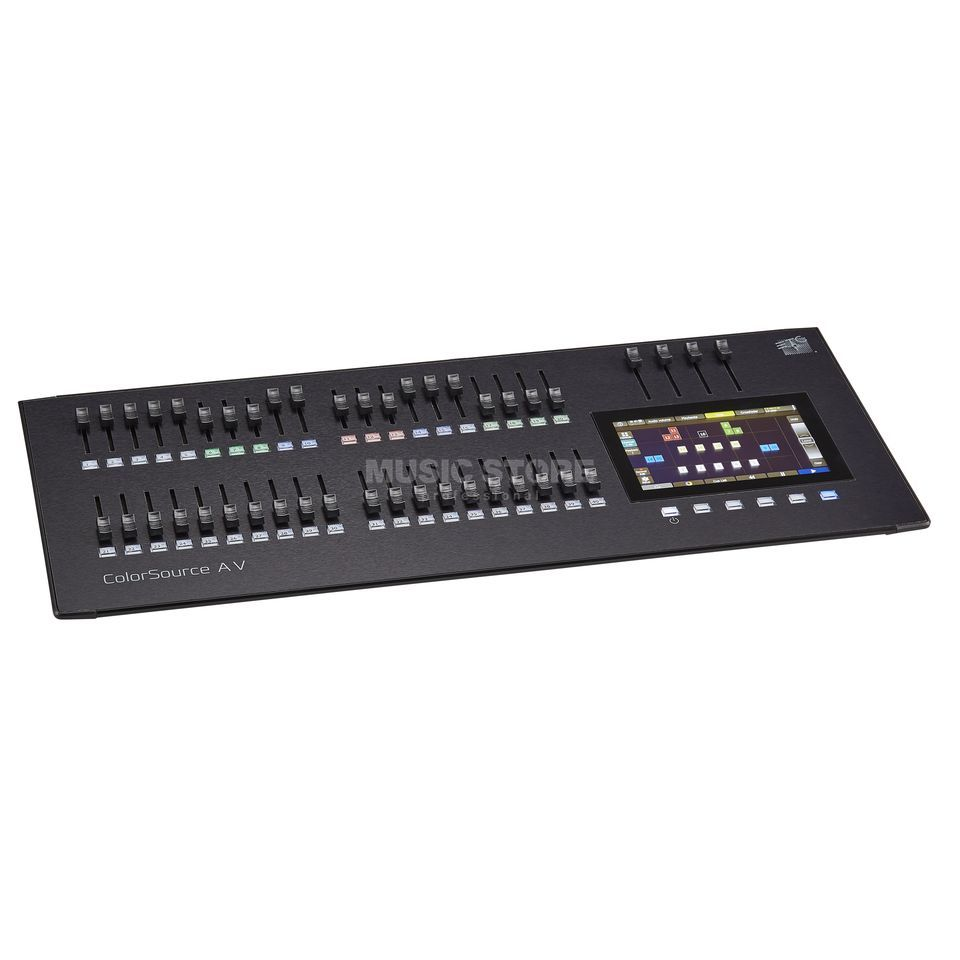 ETC ColorSource 40 AV Konsole 80 Fixtures,Video,Audio Imagem do produto