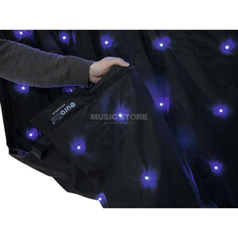 Eurolite CRT-800PRO LED-Curtain 6x4m DMX-controlled
