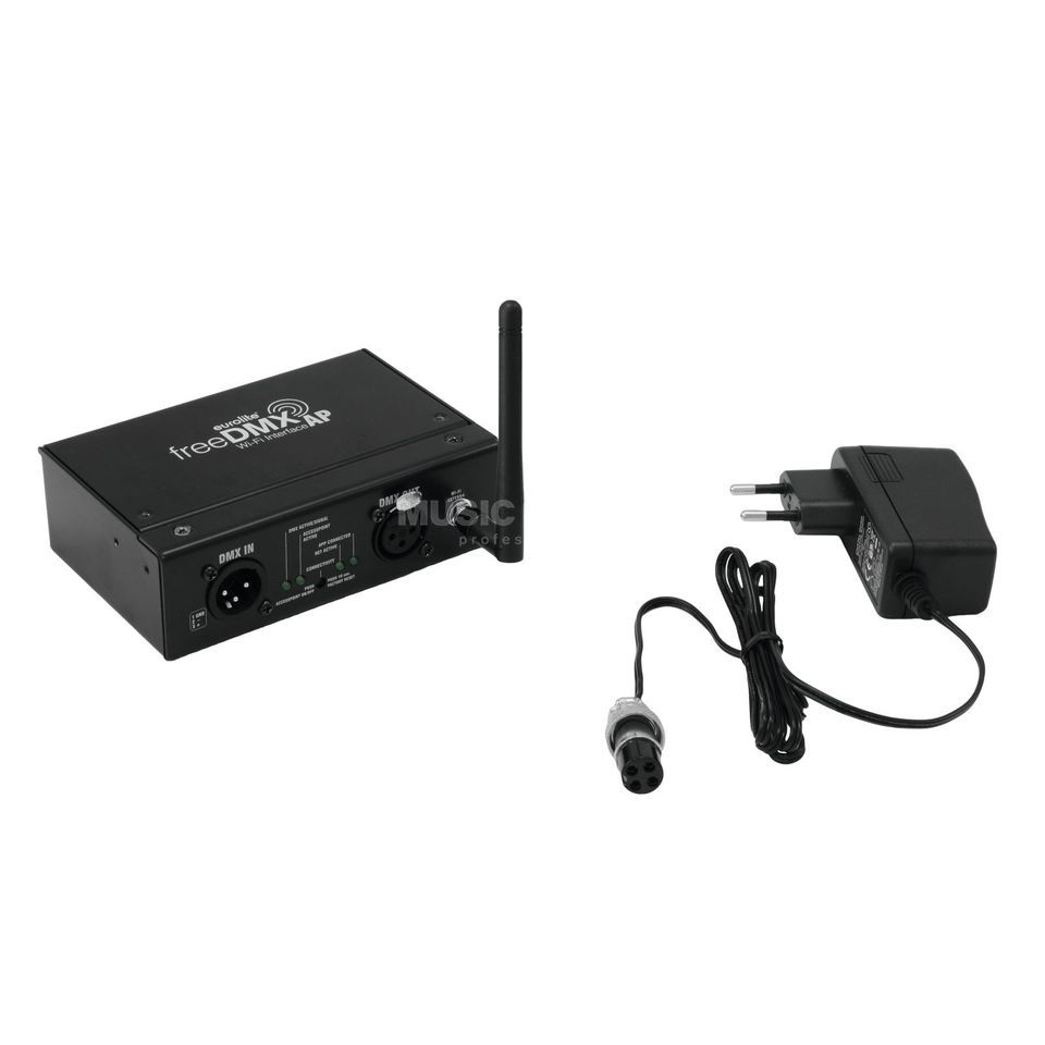 Eurolite freeDMX AP Wi-Fi Interface WLAN-DMX-Interface Product Image