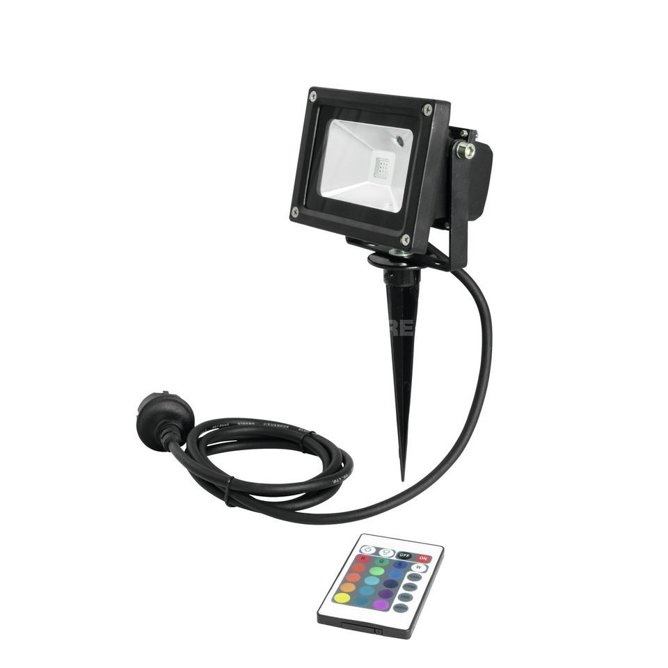 Eurolite LED IP FL-10 COB RGB FB + Skewer IP 65 Produktbillede