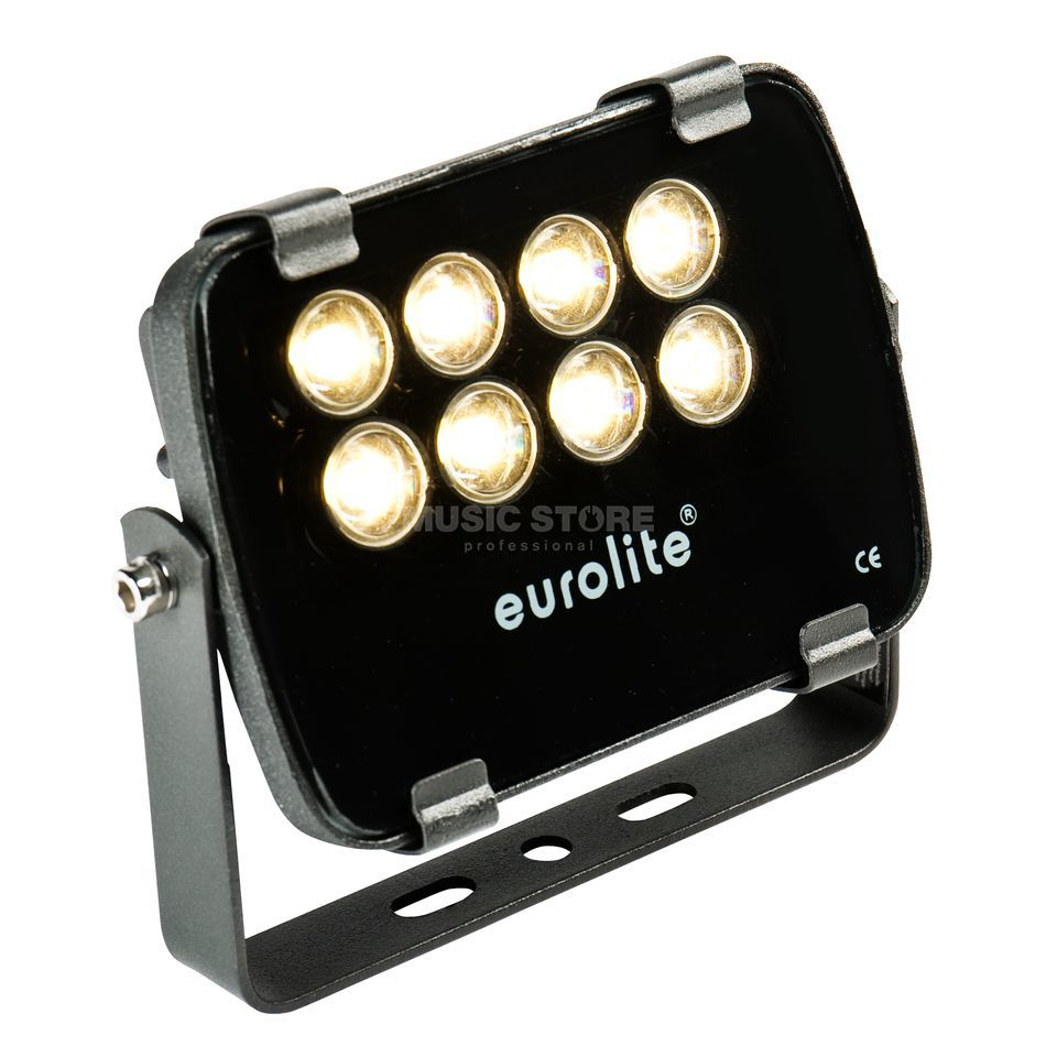 Eurolite LED IP FL-8 3000K 30° IP 56, 8x1W Garden Light Produktbillede
