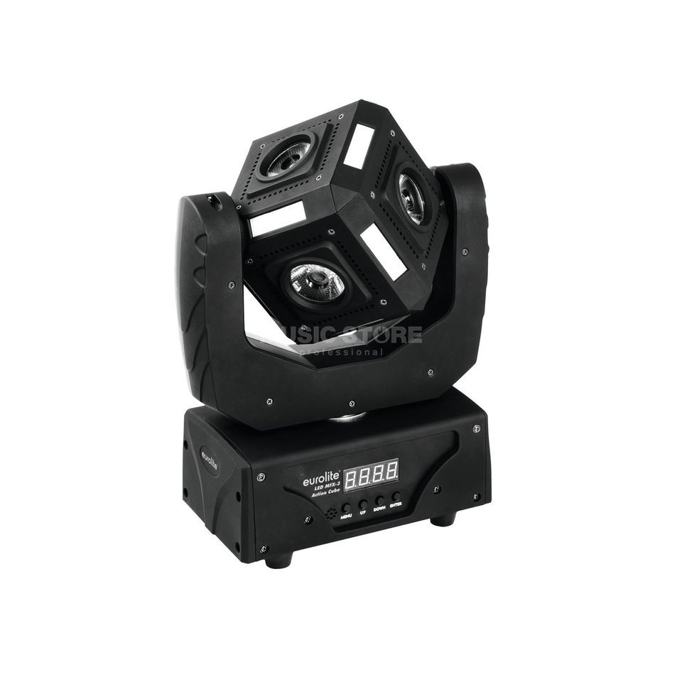 Eurolite LED MFX-3 Action Cube RGBW Beam Moving Head Produktbild