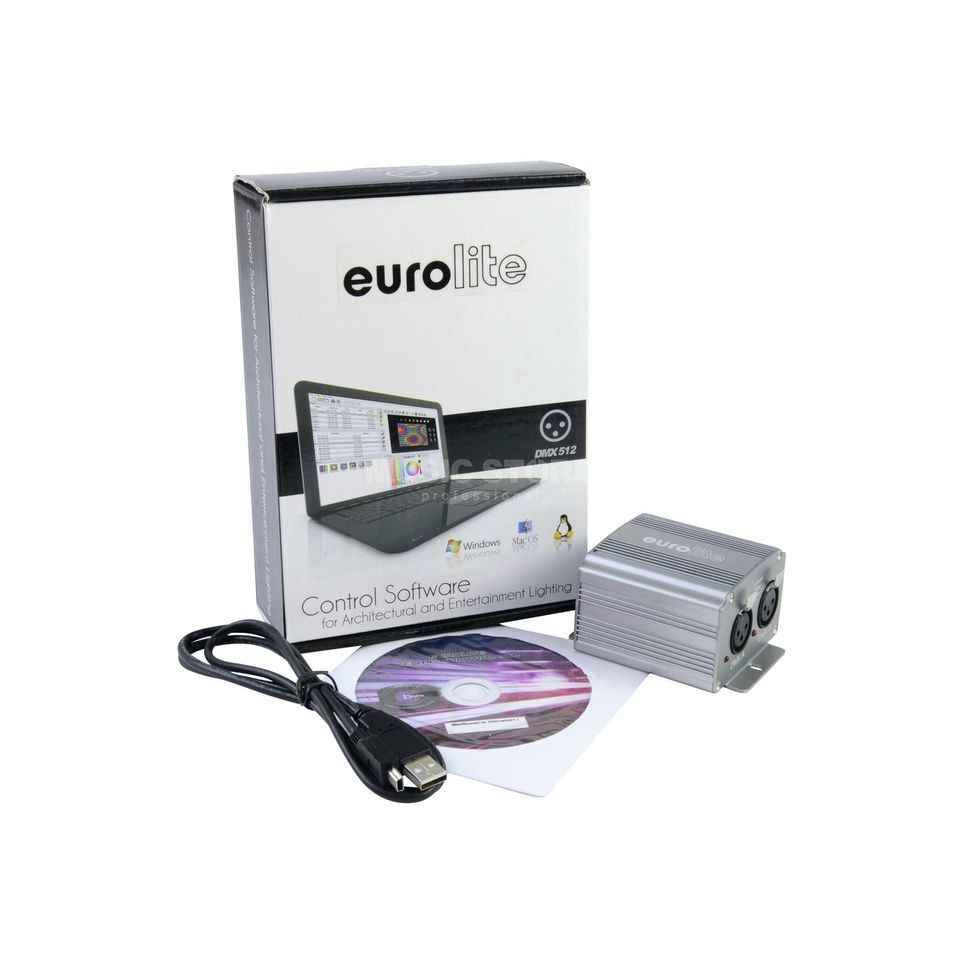 Eurolite LED PC-Control 1024 DMX-Software/Interface 1024 Ch Produktbillede