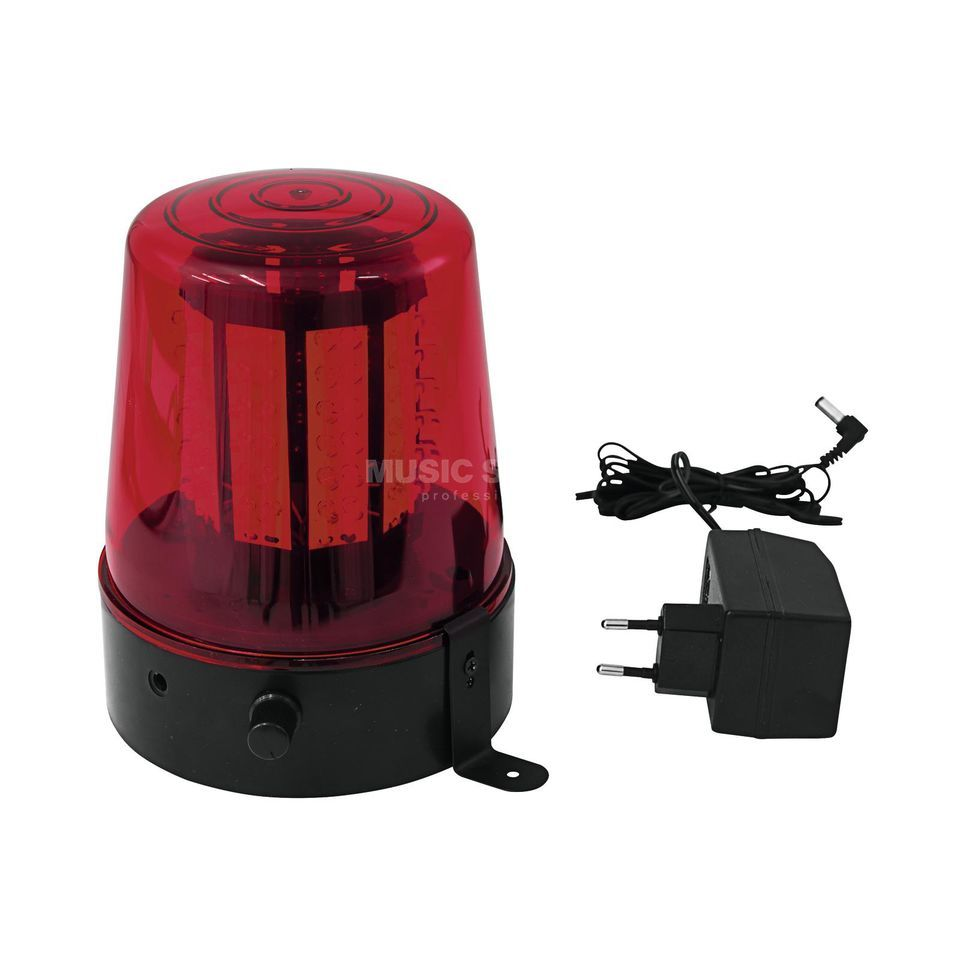 Eurolite LED Police Light 108 LEDs red classic Produktbillede