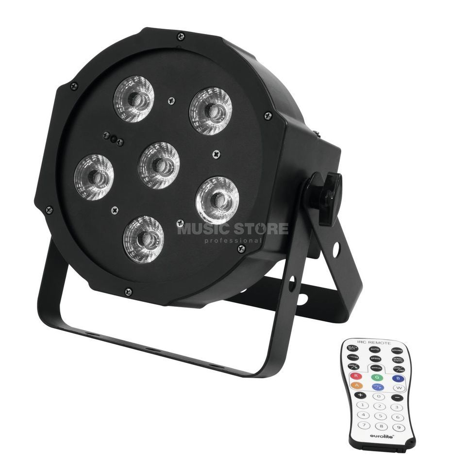 Eurolite LED SLS-603 TCL + UV Floor 6 x 3W RGB + UV Product Image