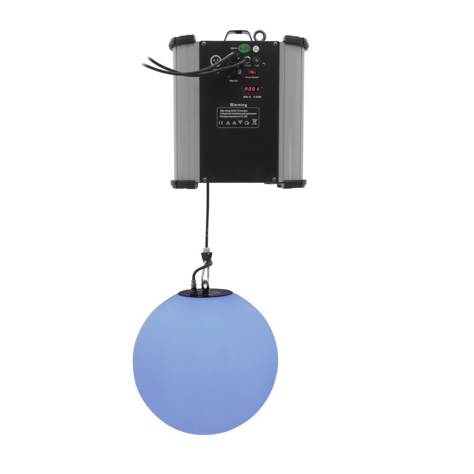 Eurolite LED Space Ball 35 + HST-150 Hanging Light with 252 RGB LEDs Produktbillede