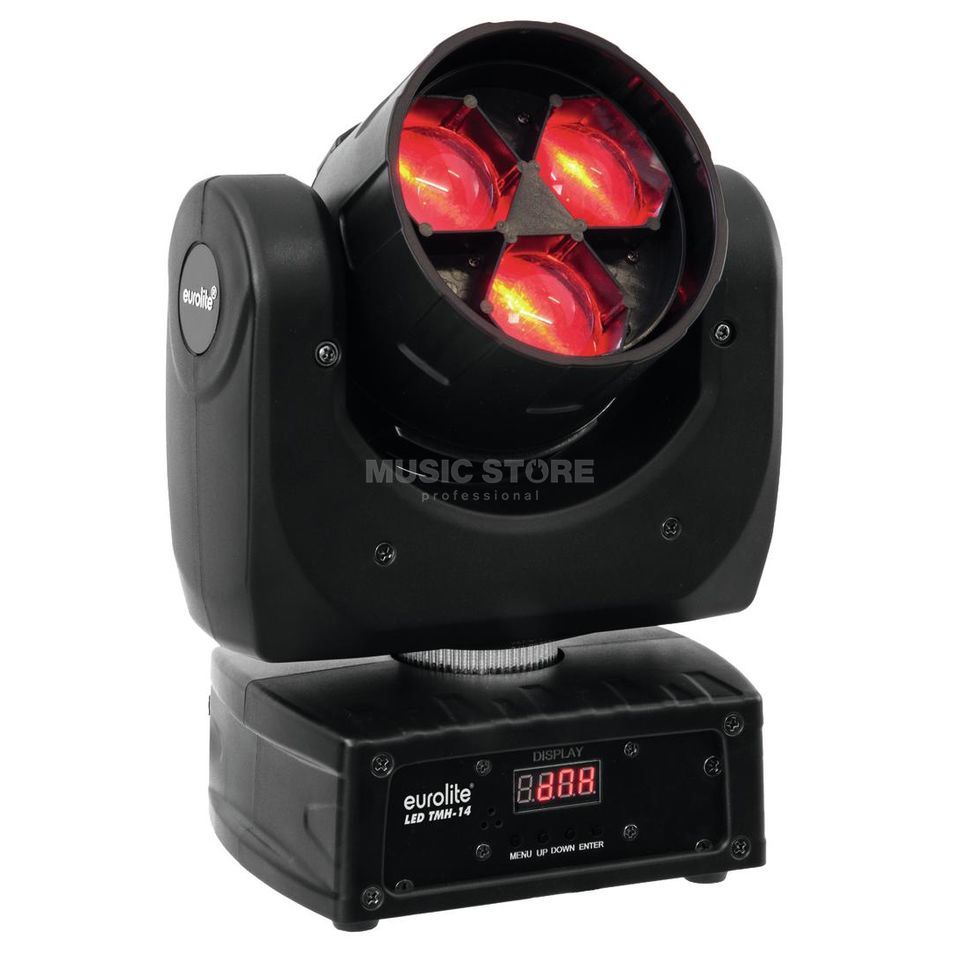 Eurolite LED TMH-14 Moving-Head QCL Zoom Wash 3 x 12W Produktbillede