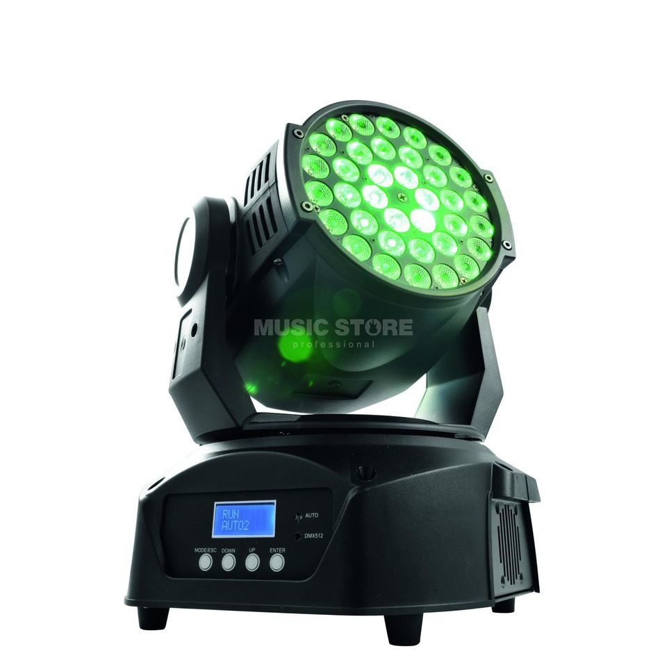 Eurolite LED TMH-40 Moving-Head Wash 36x 3-W-TCL Tricolor LEDs, RGB Imagem do produto