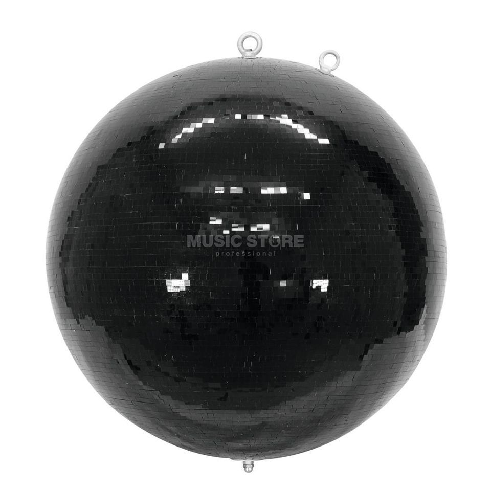 Eurolite Mirror Ball100cm Black 10mm  Produktbillede