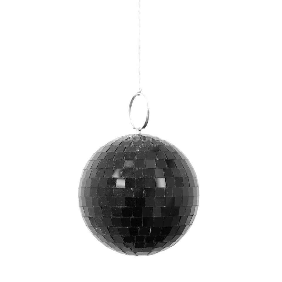 Eurolite Mirror Ball10cm Black 7mm  Produktbillede