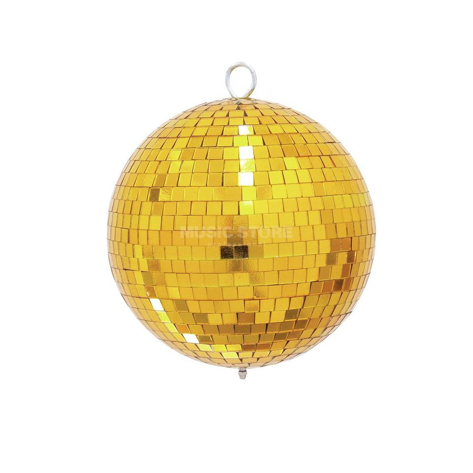 Eurolite Mirror Ball20cm gold 10mm  Produktbillede