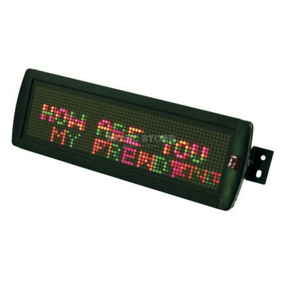Eurolite Moving Message 16 x 128 LED ESN, Red/Green/Yellow Produktbillede
