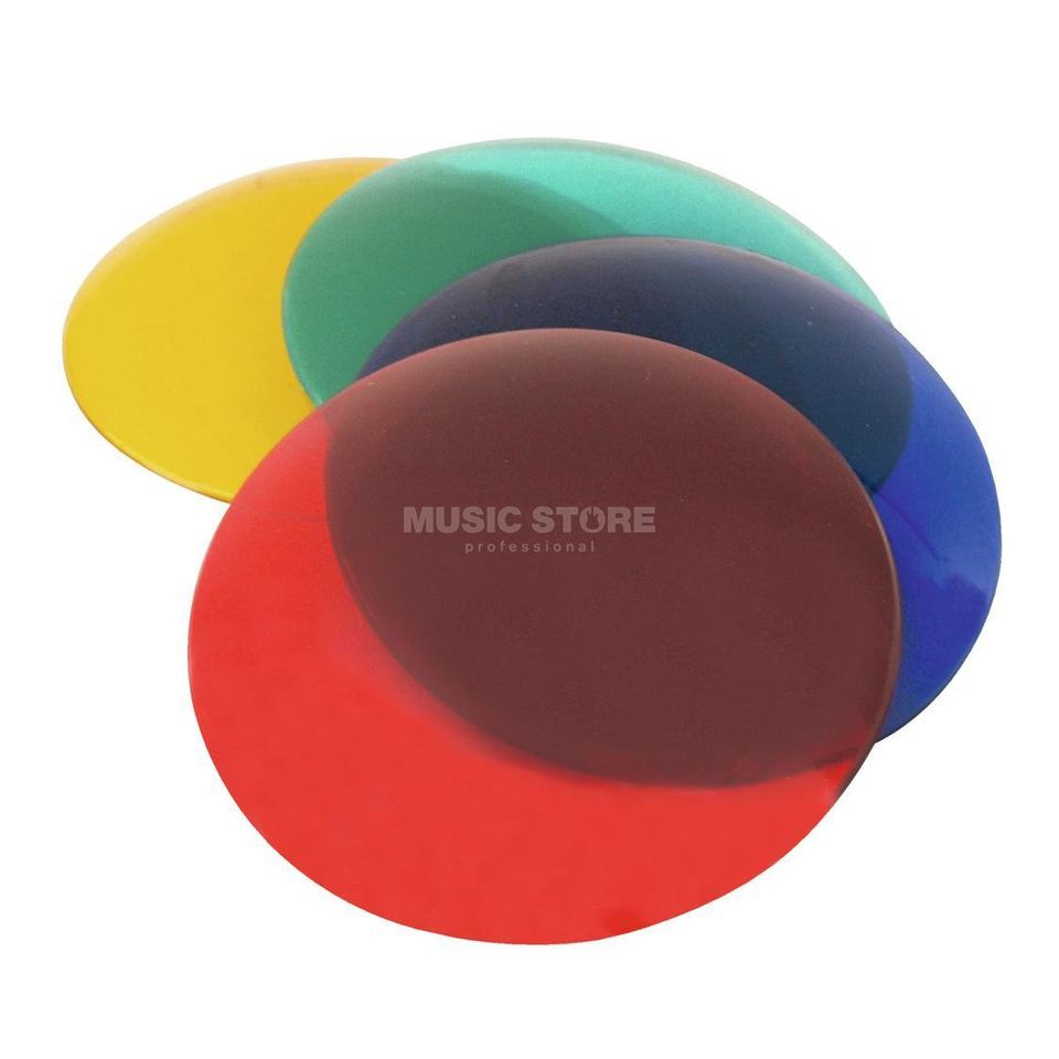 Eurolite PAR-36 Colour Cap 4-SET red, yellow, green, blue Product Image