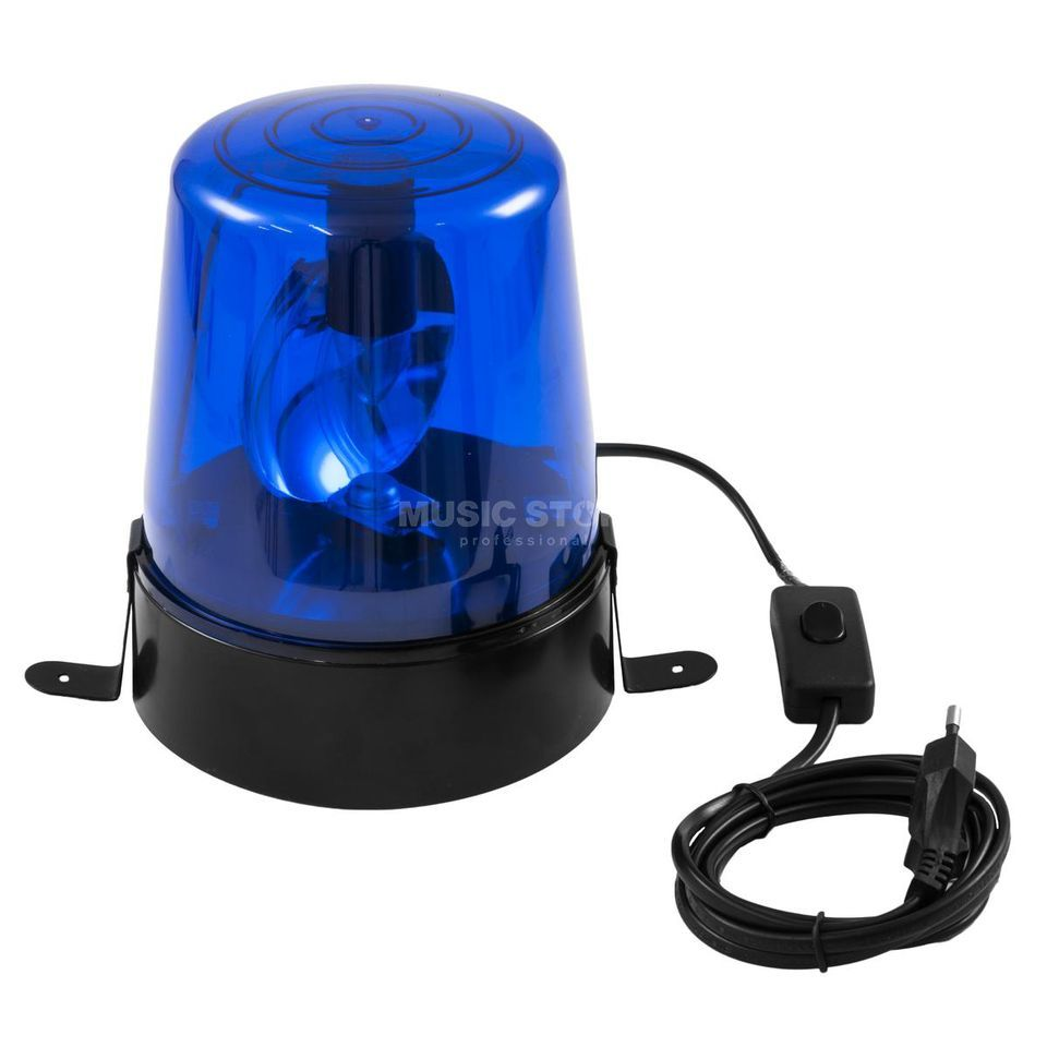 Eurolite Police Light 15 W BLUE incl. Cable & Plug Product Image