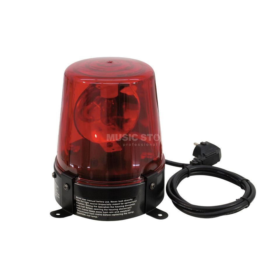 Eurolite Police Light 15 W RED inkl. Kabel & Stecker Produktbild
