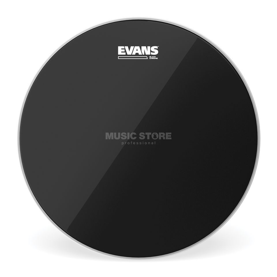 "Evans Black Chrome TT12CHR, 12"", Tom Batter Produktbillede"