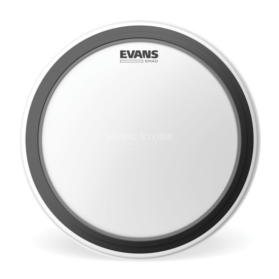 "Evans EMAD Coated 22"", BD22EMADCW, BassDrum Batter Head Product Image"